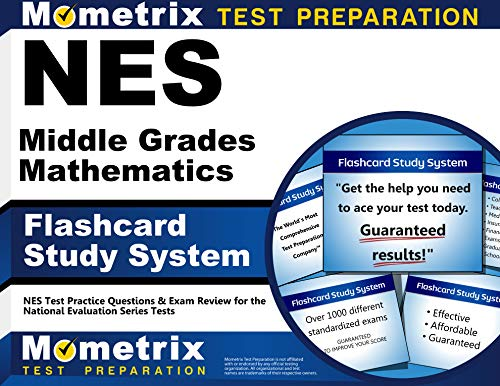 9781627338462: NES Middle Grades Mathematics Flashcard Study System: NES Test Practice Questions & Exam Review for the National Evaluation Series Tests (Cards)