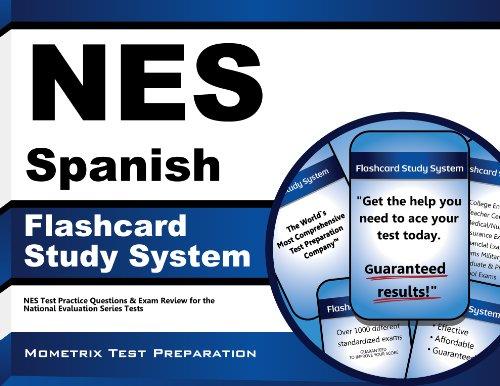 NES Spanish Flashcard Study System: NES Test: NES Exam Secrets
