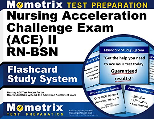 9781627338714: Nursing Acceleration Challenge Exam (ACE) II RN-BSN Flashcard Study System: Nursing ACE Test Review for the Nursing Acceleration Challenge Exam (Cards)