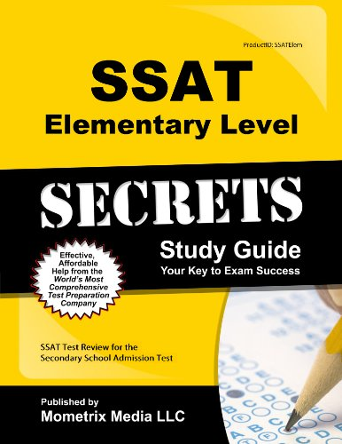 9781627339278: Ssat Elementary Level Secrets: Ssat Test Review for the Secondary School Admission Test