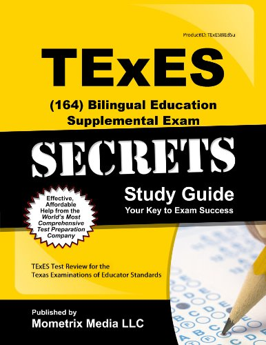 9781627339346: TExES (164) Bilingual Education Supplemental Exam Secrets Study Guide: Texes Test Review for the Texas Examinations of Educator Standards (Secrets (Mometrix))