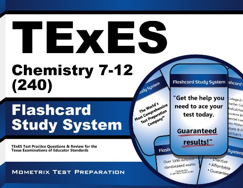 9781627339391: TExES Chemistry 7-12 (240) Flashcard Study System: TExES Test Practice Questions & Review for the Texas Examinations of Educator Standards (Cards)