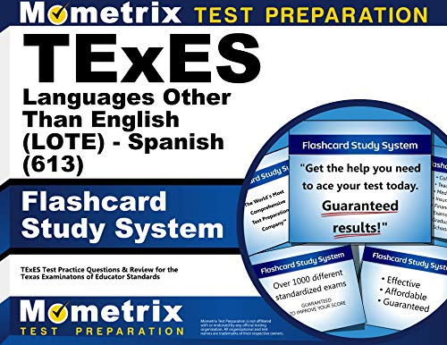 9781627339452: TExES Languages Other Than English (LOTE) - Spanish (613) Flashcard Study System: TExES Test Practice Questions & Review for the Texas Examinations of Educator Standards (Cards)