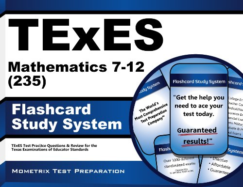 9781627339469: TExES Mathematics 7-12 (235) Flashcard Study System: TExES Test Practice Questions & Review for the Texas Examinations of Educator Standards (Cards)