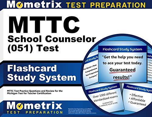 9781627339780: MTTC School Counselor (051) Test Flashcard Study ...