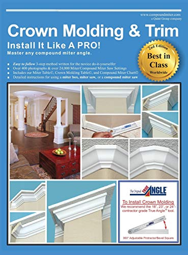 9781627341288: Crown Molding & Trim: Install It Like a Pro!