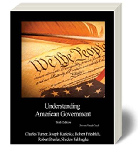 9781627512282: UNDERSTANDING AMERICAN GOVT W/ACCESS CODE LOOSE LEAF, SABBAGHA, 6, 2013, BVT HORIZON PUBLISHING, 9781627512282