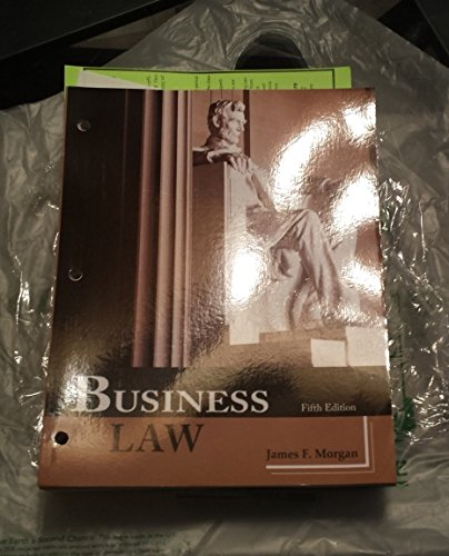 9781627513463: Business Law (Custom Edition)