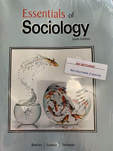 9781627513494: Essentials of Sociology 6th Edition