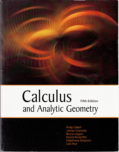 9781627513739: Calculus and Analytic Geometry