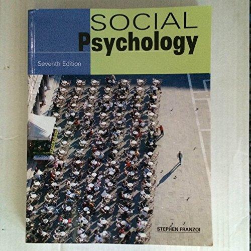 9781627515610: Social Psychology