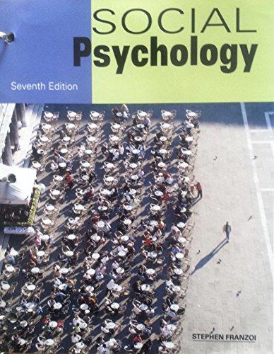 9781627515658: SOCIAL PSYCHOLOGY (LOOSELEAF)