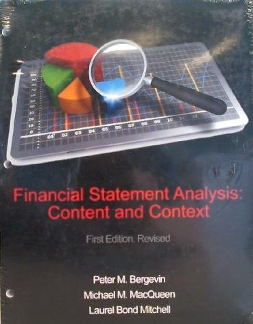 9781627516006: Financial Statement Analysis: Content & Context
