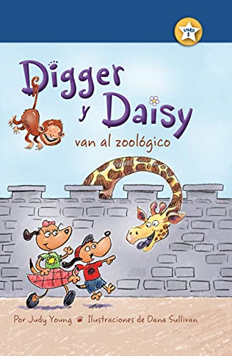 9781627539517: Digger y Daisy van al zoológico (Digger and Daisy Go to the Zoo) (I AM A READER: Digger and Daisy) (Spanish Edition)