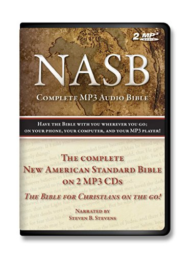 9781627580083: New American Standard Bible on MP3 Holy Bible Complete Old and New Testament on 2 audio MP3s-Digitally recorded with a durable book style case with individual protecive postions.