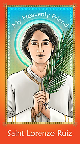 Prayer Card: Saint Lorenzo Ruiz - 2.5: Herald Entertainment