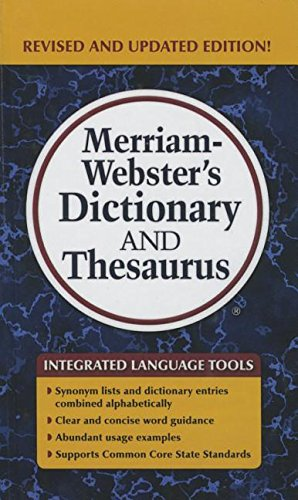 9781627655460: Merriam-Webster's Dictionary and Thesaurus
