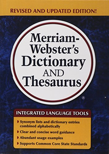 9781627655989: Merriam-Webster's Dictionary and Thesaurus