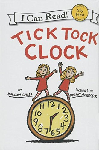 9781627658232: Tick Tock Clock (My First I Can Read - Level Pre1 (Quality))