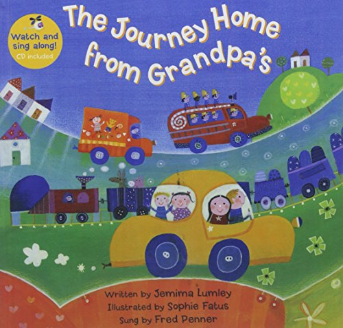 9781627658744: The Journey Home from Grandpa's W/CD
