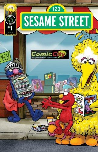9781627820080: Sesame Street #1 Comic City Exclusive Cover (Sesame Street)