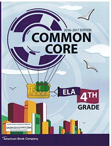 9781628009408: COMMON CORE ELA 4TH GRADE 2016-2017 EDITION