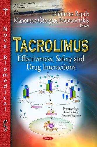 9781628083668: Tacrolimus: Effectiveness, Safety and Drug Interactions (Pharmacology - Research, Safety Testing and Regulation / Immunology and Immune System Disorders)