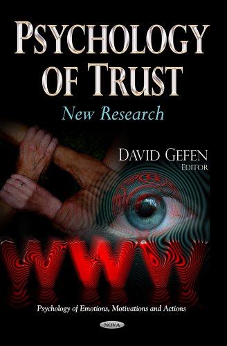 9781628085525: Psychology of Trust: New Research (Psychology of Emotions, Motivations and Actions)