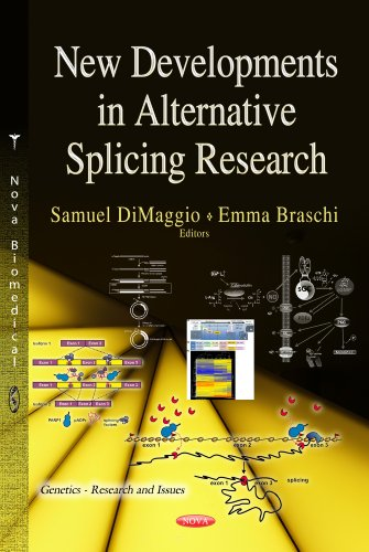 9781628087208: New Developments in Alternative Splicing Research (Genetics-Research and Issues)