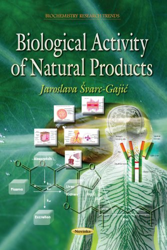 9781628089264: Biological Activity of Natural Products (Biochemistry Research Trends)