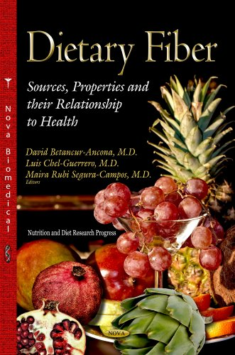 9781628089318: Dietary Fiber: Sources, Properties and Their Relationship to Health (Nutrition and Diet Research Progress)