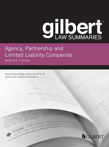 9781628100204: Gilbert Law Summary on Agency, Partnership and LLCs (Gilbert Law Summaries)