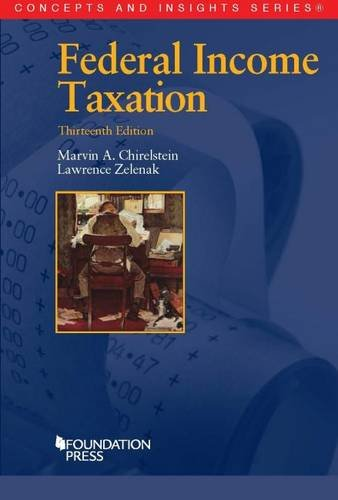 9781628100297: Federal Income Taxation (Concepts and Insights)