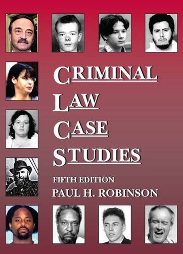 9781628101591: Criminal Law Case Studies (Coursebook)