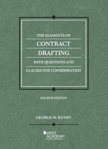 9781628101935: The Elements of Contract Drafting (Coursebook)