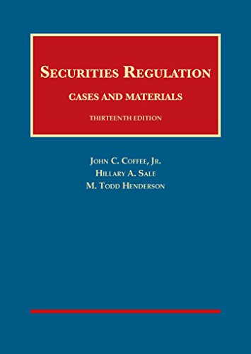 9781628102192: Securities Regulation (University Casebook Series)