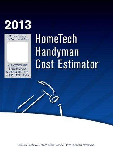 9781628143157: HomeTech Handyman Cost Estimator: Missouri 1, Kansas City & Vicinity