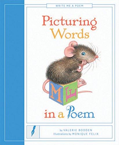 Picturing Words in a Poem (Paperback): Valerie Bodden