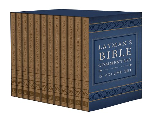 9781628366617: Layman's Bible Commentary 12 Volume Set