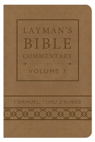 9781628366747: Layman's Bible Commentary Vol. 3 (Deluxe Handy Size): 1 Samuel thru 2 Kings