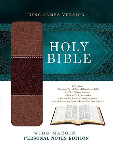 9781628369564: Wide-Margin Personal Notes Bible-KJV (King James Bible)