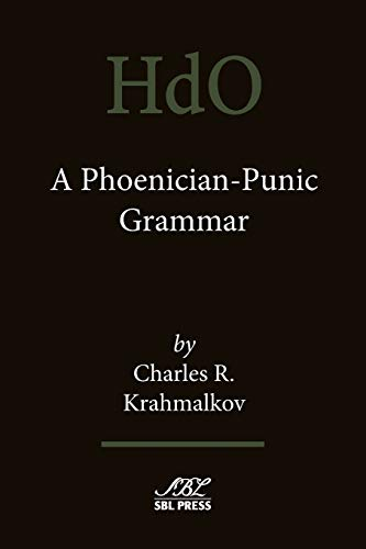 9781628370317: A Phoenician-Punic Grammar (Handbook of Oriental Studies)