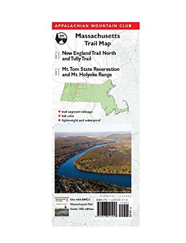 AMC Map: Massachusetts Trail Map: Tully-Mt. Grace, Mt. Tom State Reservation, and Mt. Holyoke Range