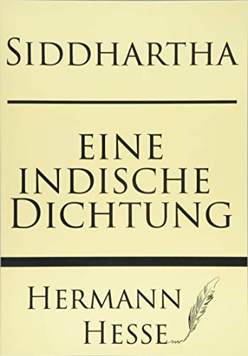 9781628451023: Siddhartha: eine indishce Dichtung (German Edition)