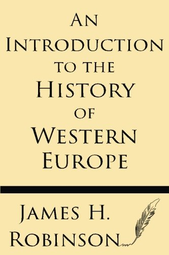 9781628451627: An Introduction to the History of Western Europe