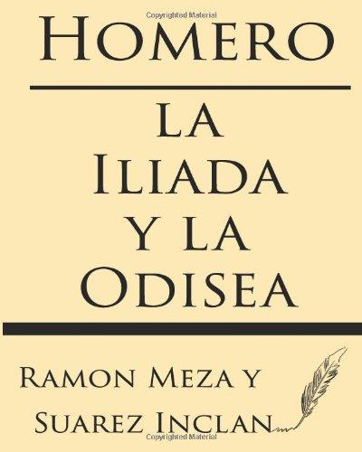 9781628451696: Homero: la Iliada y la Odisea