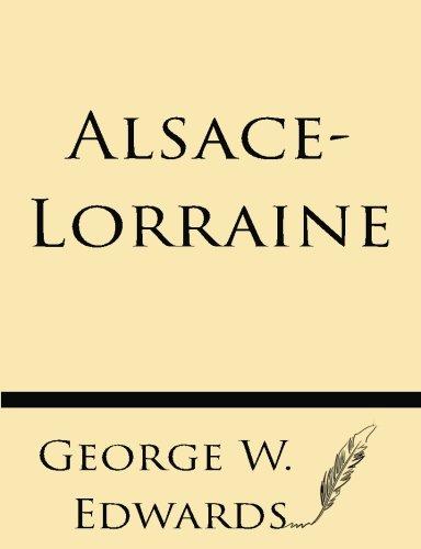9781628451801: Alsace-Lorraine