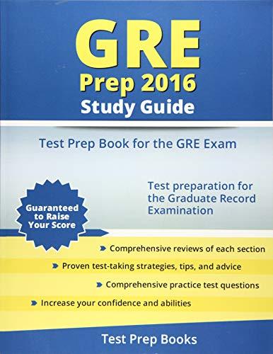 9781628453447: GRE Prep 2016 Study Guide: Test Prep Book for the GRE Exam