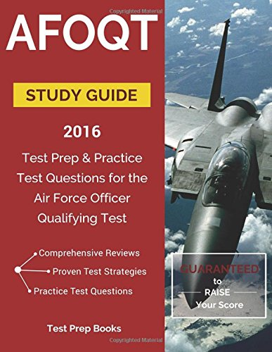 9781628453614: AFOQT Study Guide 2016: Test Prep & Practice Test Questions for the Air Force Officer Qualifying Test