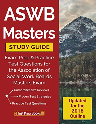 9781628453874: ASWB Masters Study Guide: Exam Prep & Practice Test Questions for the Association of Social Work Boards Masters Exam